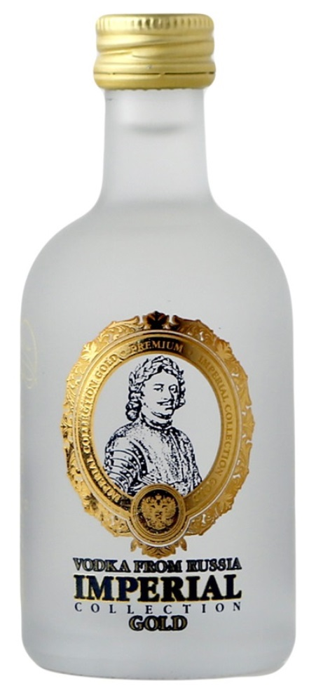 Vodka Imperial Gold Premium Russian 70cl. 40%vol.