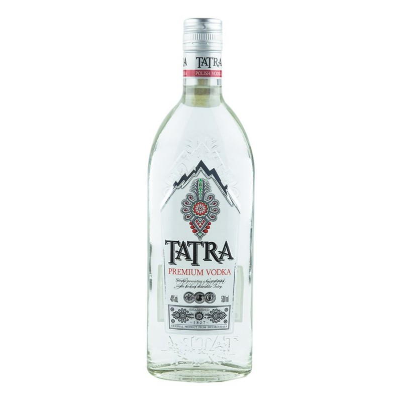 Vodka Tatra Polish Premium 70cl. 40%vol.
